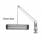 DAZOR ADJUSTABLE  LAMP - WITH CLAMP -  2 TUBES