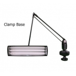 DAZOR ADJUSTABLE LAMP  - WITH CLAMP -  3 TUBES